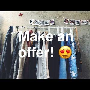 Make an offer! Bundle & save. ☺️